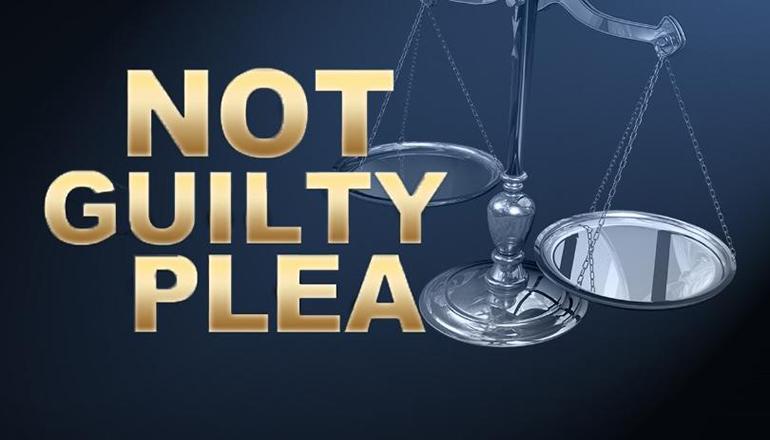 Not Guilty Plea