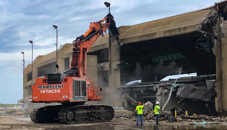 KCI Airport demolition